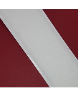 Velcro de 5 cms adhesivo de color blanco. Pieza versátil resistente y duradera.