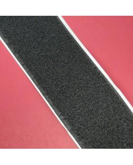 Velcro 5 cms adhesivo negro parte hembra suave