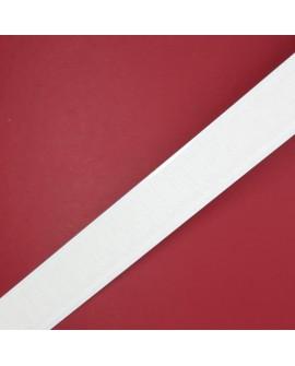Velcro adhesivo 2 cms blanco parte macho gancho