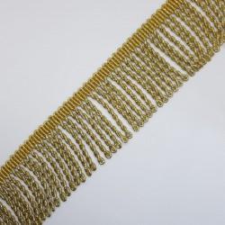 Fleco dorado metalizado rapacejo 5 cms