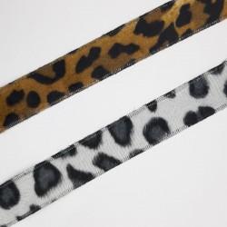 Cinta terciopelo leopardo 2,2 cms