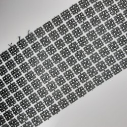 Galón plástico figuras cuadradas 11 cms