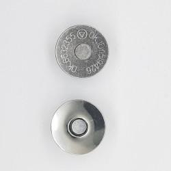 Broche imán con pinzas níquel
