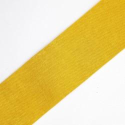 Cinta color mostaza de tejido suave y agradable tacto, ideal para tocados, diademas, complemento en prendas,... etc