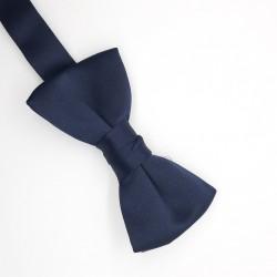 Pajarita para niño de 9 x 5 cms azul marina, con regualdor, clásica y elegante, ideal, ceremonias, graduaciones, disfraces, boda