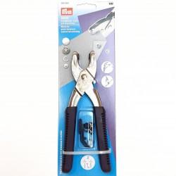 Tenaza para remachar y perforar Prym. Muy útil para poner snaps, ojetes, botones a presión o incluso vaqueros.