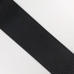 Cinta negra para asas de bolsos de 5 cms, de gran resistencia y suavidad