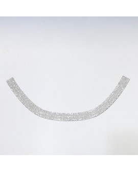 Aplique adhesivo Strass cuello  decorativo