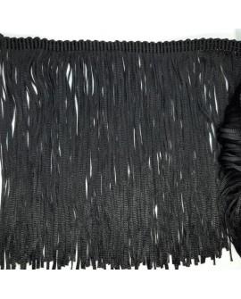 Fleco cintas negro decorativo