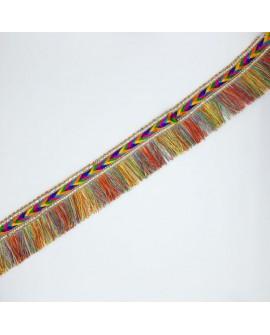 Fleco galón multicolor decorativo