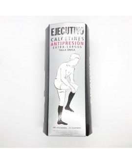 Calcetín ejecutivo modelo clásico extra largo especial antipresión sin marcar cómodos y novedoso