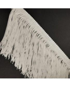 Fleco cuquillo de 10 cms adorno clásico decorativo especial trajes de flamenca y regionales, mantones,... color beige
