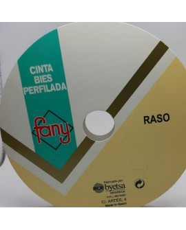 Cinta bies raso 3 cms color decorativo