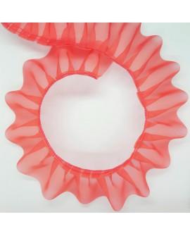 Cinta garrucha organza 5 cms