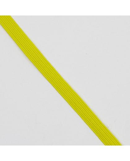Goma o cinta elástica plana de color de 6,5 mm. Especial para prendas y manualidades que precisen elasticidad.