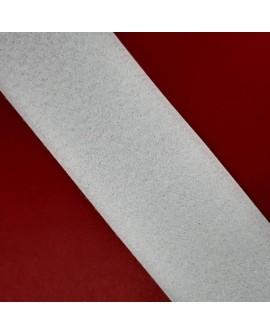Velcro 5 cms cosido blanco parte hembra suave