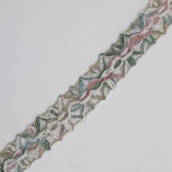 Pasamanería cinta decorativa para prendas y complementos multicolor camel