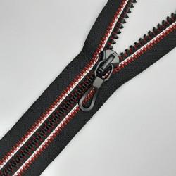 Cremallera sport separadora inyectada tubular 70 cms