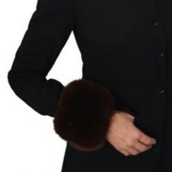 Puño pelo ecológico elástico 10 cms calidad extra ideal para abrigos, cazadoras, chaquetas y disfraces