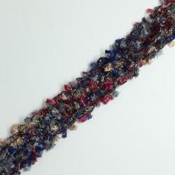 Galón Chanel destellos multicolor 2 cms