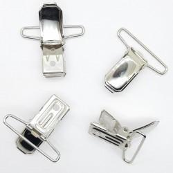 Pinzas metálicas tirantes níquel