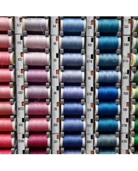 Bobinas hilo Duet costura. Ideal para coser a máquina y a mano. Resistente y de alta suavidad.