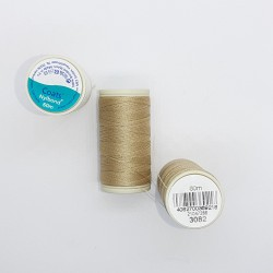 Hilo para coser Coats Nylbond extrafuerte y elástico de color 3082 arena especial cuero, tapicería, vaqueros, joyas,..