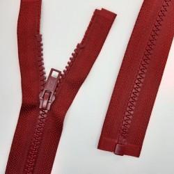 Cremallera separador 75 cms inyectada, especial para prendas deportivas, chaquetas, abrigos,..