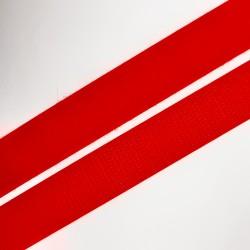 Cinta velcro para coser rojo de 2 cms