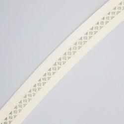 Cinta vainica batista de color beige de 2 cms especial para prendas y complementos de ceremonias