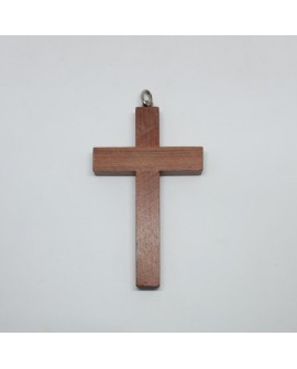 Cruz clásica de madera especial para primera comunión.