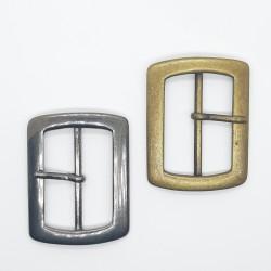 Hebilla metálica de 3,5 cms para prendas y complementos