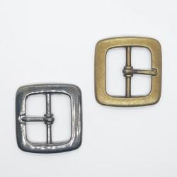 Hebilla metálica de 2.5 cms para prendas y complementos