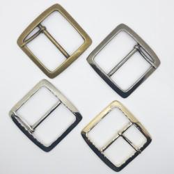 Hebilla metálica cuadrada 4 cms para prendas y complementos