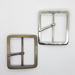 Hebilla metálica cuadrada 5 cms para prendas y complementos