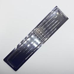 Sobre de 4 agujas especiales extralargas ideales para encuadernar, manualidades y patchwork