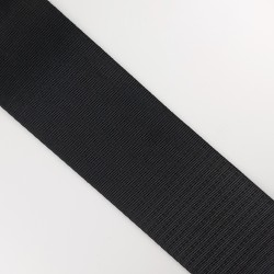 Cinta negra para asas de bolsos de 5 cms