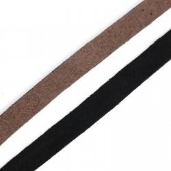 Tira antelina 1 cms de color mate sin brillo. Ideal prendas y complementos como bolsos, zapatos, accesorios,..