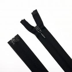 Cremallera separador malla 3 invisible 60 cms negra. Ideal para prendas ligeras. Chaquetas y abrigos de tejido fino.