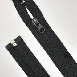 Cremallera separador malla 5 invisible de nylon negra de 70 cms. Especial faldas y vestidos.