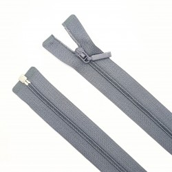 Cremallera separador fina malla 3 de color gris