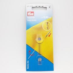 Aguja mágica para reparar enganches y coger puntos para volver a introducirlos en la prenda o tejido