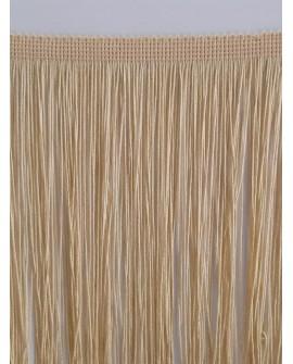 Fleco camel clásico de cuquillo de 25 cms. Ideal para trajes y complementos de flamenco y un sinfín de proyectos decorativos