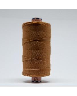 Hilo torzal extrafuerte de color camel, especial para resaltar costura en vaqueros, tejanos, ... de excelente calidad