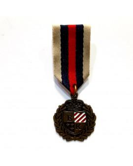 Broche insignia militar de color oro viejo. Pieza versátil, muy utilizada en disfraces.