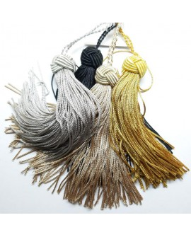 Borla cabeza turca cuquillo decorativa