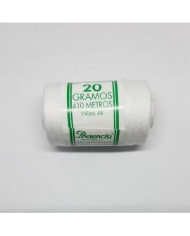 Hilo blanco especial para hilvanar Presencia 20 gramos