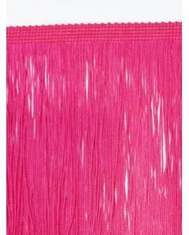 Fleco cuquillo de 40 cms y color fucsia. Adorno clásico especial trajes de flamenca, prendas y complementos.