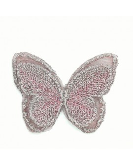 Aplique fantasía mariposa decorativo