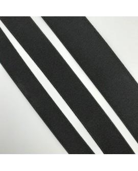 Elástico negro resistente y duradero. Ideal para cinturillas de confección y costura. Muy utilizado en manualidades.